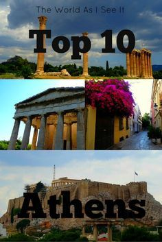 Discover the best of what to do and see in Athens, Greece