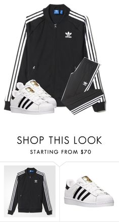 """""""Adidas"""" by latishacorns ❤ liked on Polyvore featuring adidas"""