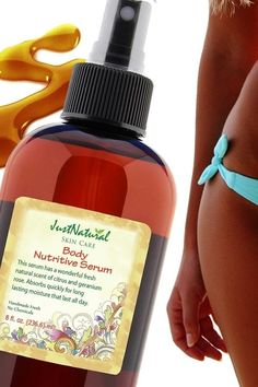 Body Nutritive Serum | Tanning Skin Helpers & Support Skin | Just Nutritive