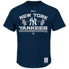 New York Yankees 2015 Authentic Collection Strength & Conditioning T-Shirt - MLB.com Shop