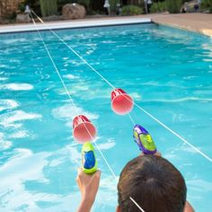 """""""Running out of ideas on how to entertain your kids this summer? I have three words for you...SQUIRT GUN RACES!"""