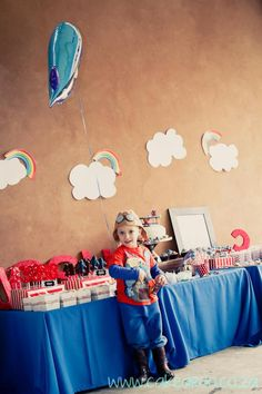 Aviator Birthday Party via Kara's Party Ideas | KarasPartyIdeas.com (11) This is a favorite!