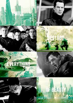 John Harrison. Benedict Cumberbatch. Star Trek Into Darkness