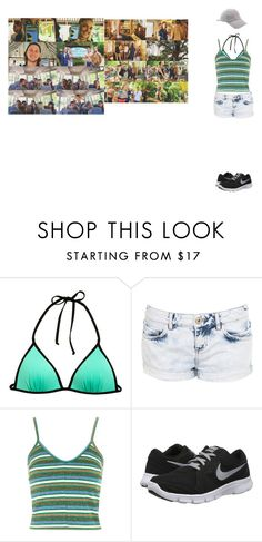 """If i was in R5 1347"" by babyely ❤ liked on Polyvore featuring H&M, Miss Selfridge, Topshop and NIKE"