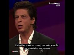 Shah Rukh Khan had his audience impressed and enthralled with his funny ...