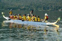 All types of human powered boats participate and race in the Spirit of the Lake Regatta . . . www.stayingrandlake.com #Regatta #GrandLake #Colorado