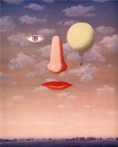 René Magritte - Las bellas relaciones, 1967
