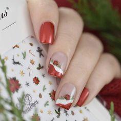 Christmas Nail Stickers, Christmas Nail Art, Christmas Tag, Christmas Ornaments, Dry Nail Polish, Dry Nails, Nail Hardener, Nail Decorations