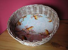 ošatka ☺ košík ☺ na vejce ☺ na chléb ☺ pletení z papíru ☺