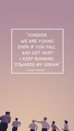 Bts- Young forever