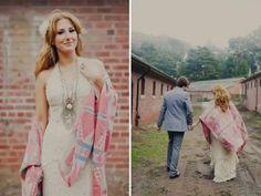 Eine Hochzeit im Boho-Style feiern