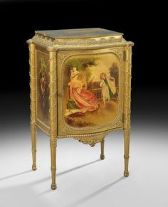 antique french music cabinet - Google Search
