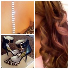 FABULOUS fashion ideas! #Pinstraps by Strap N' Guard #Hair Golden Highlights #Shoes by Michael Kors