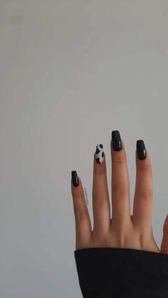 Natural Acrylic Nails, Acrylic Nails Coffin Short, Simple Acrylic Nails, Best Acrylic Nails, Acrylic Nail Designs, Wedding Acrylic Nails, Summer Acrylic Nails, Edgy Nails, Grunge Nails