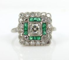 Hey, I found this really awesome Etsy listing at http://www.etsy.com/listing/168323352/victorian-113-cts-diamond-emerald