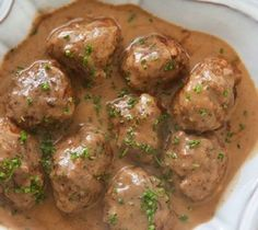 Meatballs in Cream Gravy Recipe