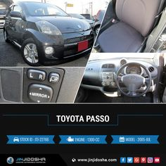 #Buy Your #Toyota #Passo Now!  #JinJidosha #Japan #BestCarSellingCompany #Japanese #RHD #Drive #Carsforsale #Sale #AT #Automatic #Speedway #SuperCars #Black #Foglights #Soundsystem #Navigation #RearSpoiler #Vehicles #Cars #Dealership #Offer #Contact