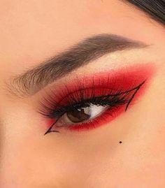 Edgy Makeup, Makeup Eye Looks, Eye Makeup Art, Cute Makeup, Pretty Makeup, Skin Makeup, Makeup Meme, Mac Makeup, Grunge Makeup