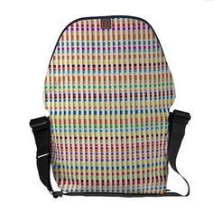 Custom made large Rickshaw Zero Bag Messenger Bags
