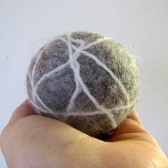 Dryer balls made from real sheep wool infused with essential oils! How neat is this. No more dryer sheets. Try this organic alternative!