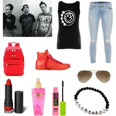 """Blink-182"" by jade-what on Polyvore"