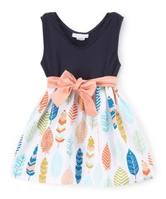 Loving this Black & Pink Boutique Fashion A-Line Dress - Toddler & Girls on #zulily! #zulilyfinds