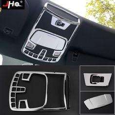 Steering Wheel Moulding Frame Cover Trims Kit for 2015-18 Ford F150 Accessories