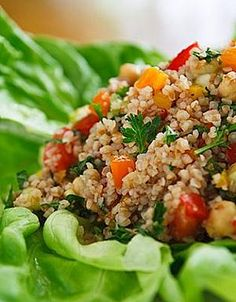 Toasted Quinoa Salad - Organic Recipes From Flannerys