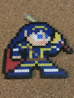 Lucina Bead Sprite  Super Smash Brothers  Fire by DCBPerlerSprites