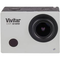 "Vivitar DVR 914HD Action Camera $120 16.1mp, 4k @ 10fps, HD @ 120fps, IR Remote, 9x4x4"""