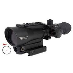 BSA Tactical Weapon Illuminated Red Dot Sight Black Finish with Laser and Mount TW30RDL