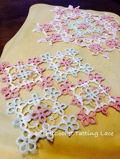 タティングレース☆ RichetCochet~~Tatting Lace(リシェコシェ・タティングレース教室)-3ページ目