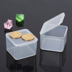 Portable-Clear-Plastic-Transparent-With-Lid-Storage-Box-Collection-Container-Pro