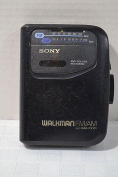 Sony WM-FX101 AM/FM Walkman Cassette Player Tested Working #Sony
