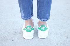 Adidas Stan Smith and Green Coat11