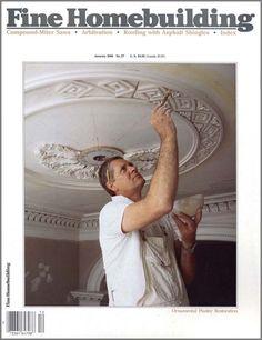 ☆Plaster of Paris hand made ceiling medallion☆ {AWESOME! Ceiling Coving, Ceiling Texture, Ceiling Art, Ceiling Design, Ceiling Lighting, Plaster Mouldings, Plaster Art, Paint Finishes, Ceiling Finishes