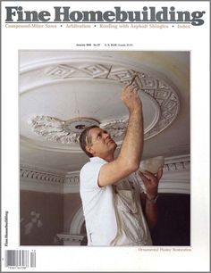Plaster of Paris hand made ceiling medallion