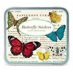 Sticker Set Schmetterlinge