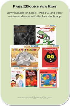 25 books available for free for kids today! You can download these book on a PC or iPad with the Kindle app if you don't have a Kindle Fire.