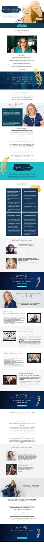 Entrepreneur, Personal Branding, Page Design, Branding Design, Marketing, Female, Business, Store, Corporate Design