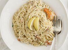 Linguine lobster pasta
