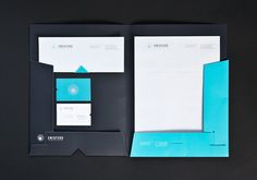 I'm really like the navy with light blue, it's softer than if it was designed with black and blue. The designer is Daniele Troiani. #design #stationery