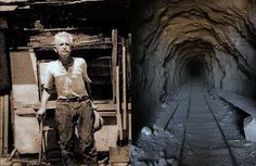 William 'Burro' Schmidt spent over three decades of his life single-handedly digging a 2,000-feet long tunnel through Cooper Mountain, in the Mojave Desert.