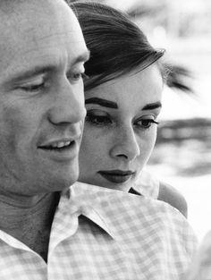 Audrey Hepburn and Mel Ferrer, 1956.