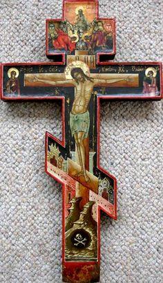 Крест-Распятие, начало 19 в..