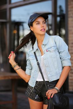 VivaLuxury - Fashion Blog by Annabelle Fleur: LEVI'S #MAKEOURMARK LOOK 2