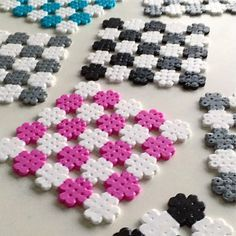 Coasters hama beads by parlpluttan Melty Bead Patterns, Pearler Bead Patterns, Perler Patterns, Beading Patterns, Hama Beads Coasters, Diy Perler Beads, Perler Bead Art, Hamma Beads Ideas, Pearl Beads Pattern