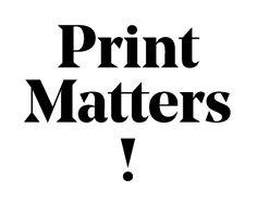 Print Matters! div. gute  weltweite Magazine in Zürich und im Abo.