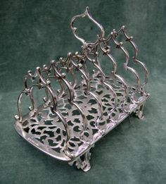 Lovely-Victorian-c-1852-Silver-Plated-Toast-Rack-by-Elkington-Mason-Co