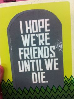 Real Friendship Card